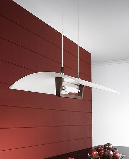 Wood suspension lamp 90145 from Linea Light | Modern Lighting + Decor