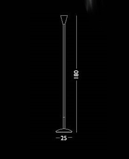 Ice 11 floor lamp from Lumen Center Italia | Modern Lighting + Decor