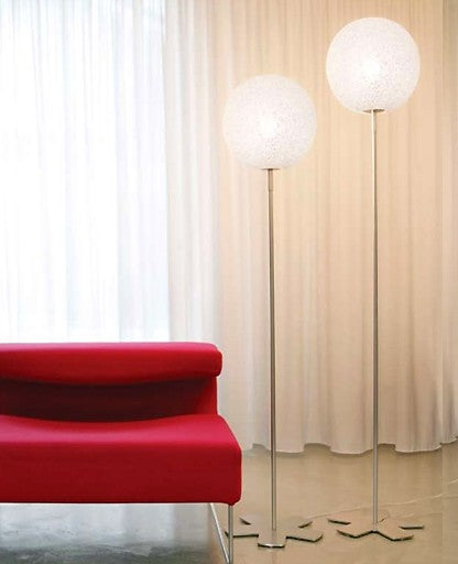 Iceglobe floor lamp from Lumen Center Italia | Modern Lighting + Decor