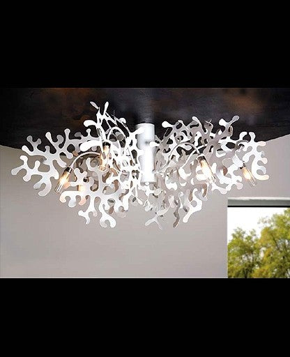 Coral ceiling light from Lumen Center Italia | Modern Lighting + Decor