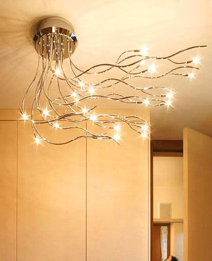 Mistral 24 ceiling lamp from Lumen Center Italia | Modern Lighting + Decor