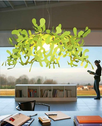 Super Leaves pendant light from Lumen Center Italia | Modern Lighting + Decor