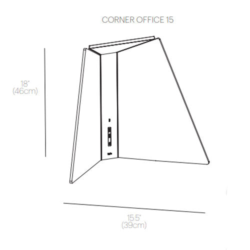 Buy online latest and high quality Corner Office 15 Table Lamp from Pablo Designs | Modern Lighting + Decor