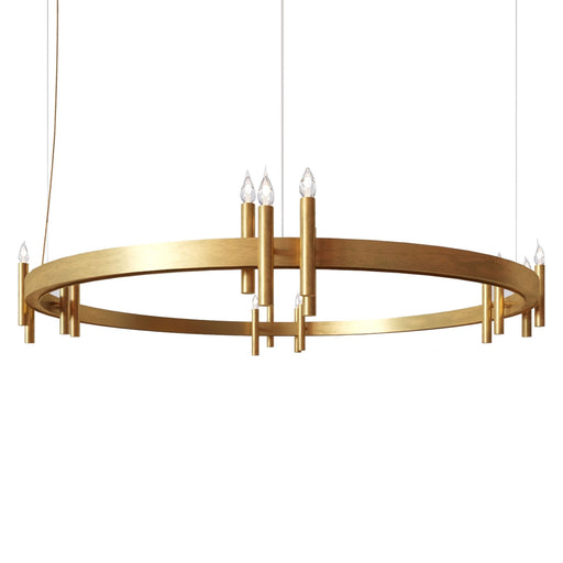 Shiro Ring 16 Lights Pendant Light from Brand Van Egmond | Modern Lighting + Decor