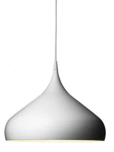 Spinning BH2 pendant light from &Tradition | Modern Lighting + Decor