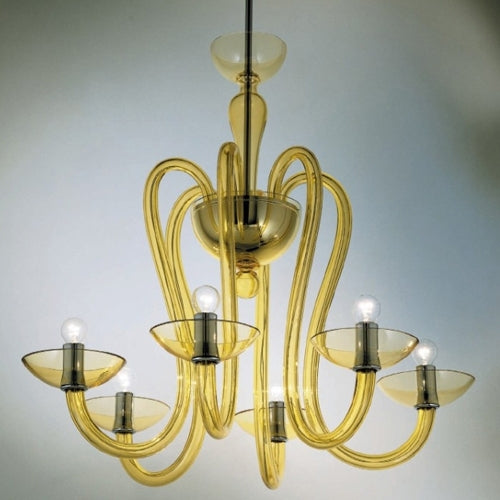 Menegario MENSOV06 Chandelier from Mazzega 1946 | Modern Lighting + Decor