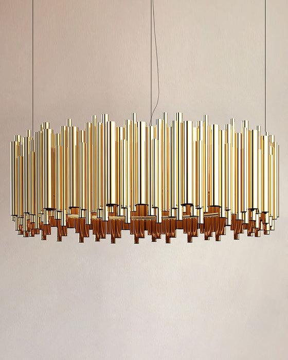 Brubeck Oval LED Pendant Light from Delightfull | Modern Lighting + Decor