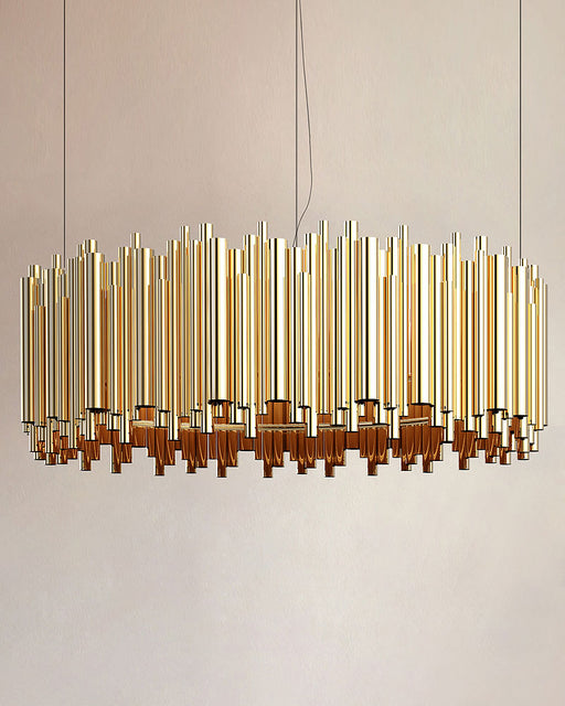 Brubeck Round LED Pendant Light from Delightfull | Modern Lighting + Decor