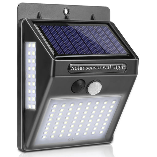 Vadira LED Solar Outdoor Wall Light from Interior Deluxe | Modern Lighting + Decor