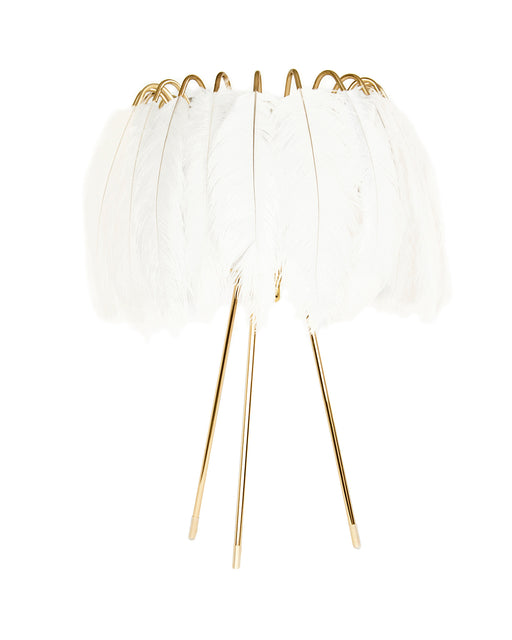 Feather Table Lamp from Mineheart | Modern Lighting + Decor