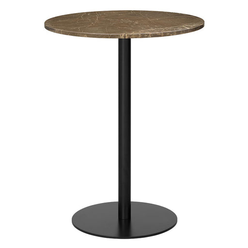 Buy online latest and high quality GUBI 1.0 Bar Table - Round 80cm from Gubi | Modern Lighting + Decor
