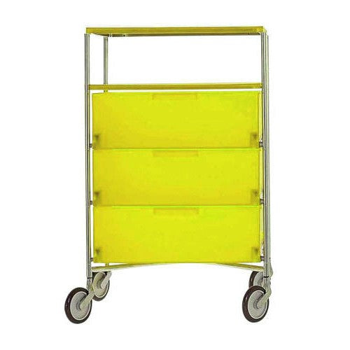 Mobil 3 + 1 Container w/ Wheels from Kartell | Modern Lighting + Decor