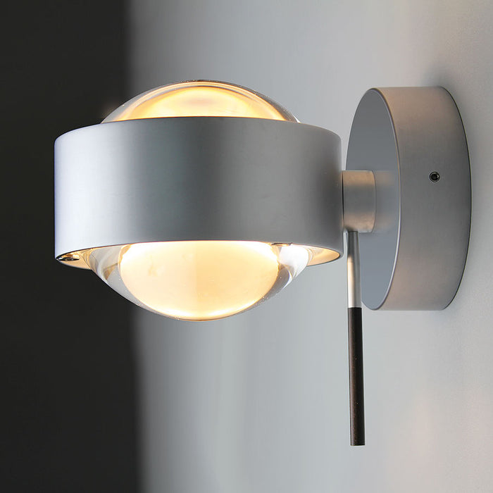 Puk Wall Plus Light from Top Light | Modern Lighting + Decor