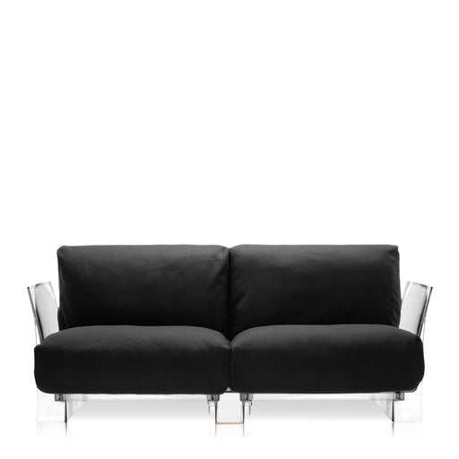 Buy online latest and high quality Pop Trevira Sofa Double Seat With Transparent Frame from Kartell | Modern Lighting + Decor