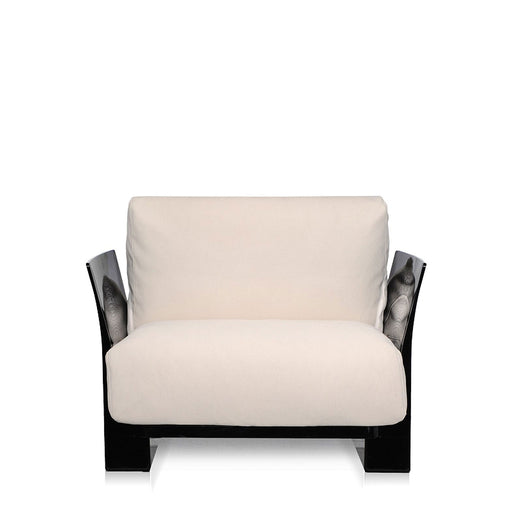 Buy online latest and high quality Pop Trevira Armchair With Black Frame from Kartell | Modern Lighting + Decor