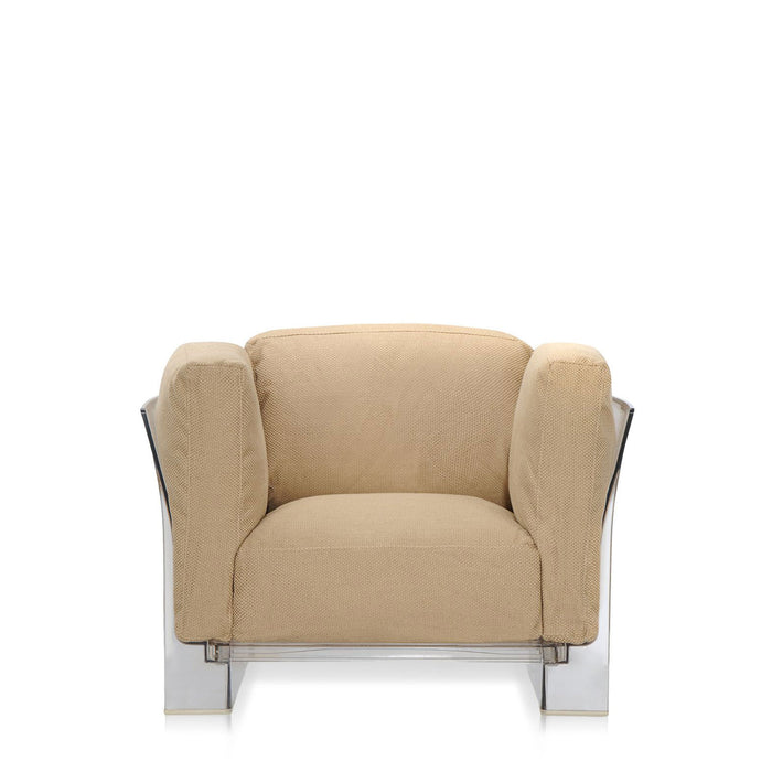 Buy online latest and high quality Pop Duo Armchair With Transparent Frame from Kartell | Modern Lighting + Decor