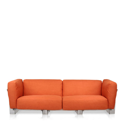 Buy online latest and high quality Pop Duo Sofa Double Seat With Transparent Frame from Kartell | Modern Lighting + Decor