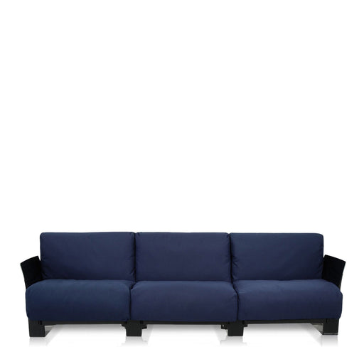 Buy online latest and high quality Pop Cotone Sofa Triple Seat With Black Frame from Kartell | Modern Lighting + Decor