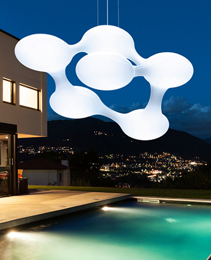 Cosmo Outdoor Pendant Lamp from Next | Modern Lighting + Decor