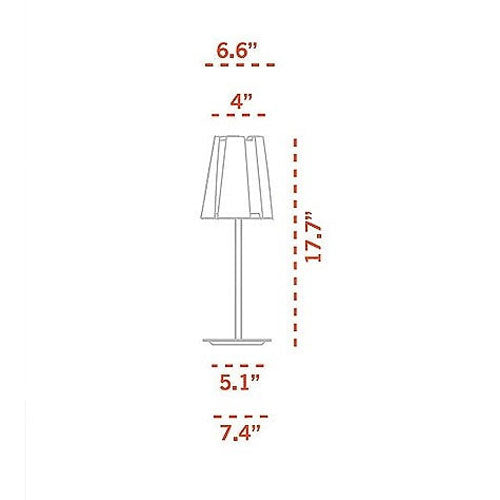 Buy online latest and high quality Little Twist Table Lamp from Carpyen | Modern Lighting + Decor