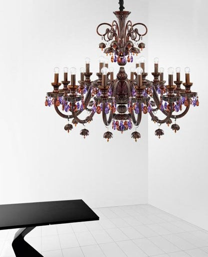 Buy online latest and high quality 249 Burlesque Chandelier from ITALAMP | Modern Lighting + Decor