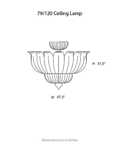 79 Ceiling Light from ITALAMP | Modern Lighting + Decor