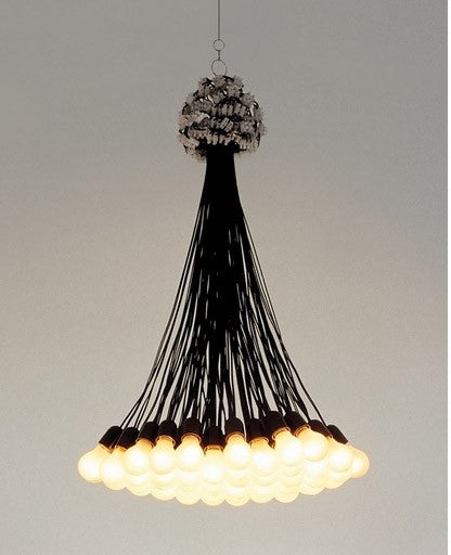 85 Lamps Chandelier from Droog | Modern Lighting + Decor