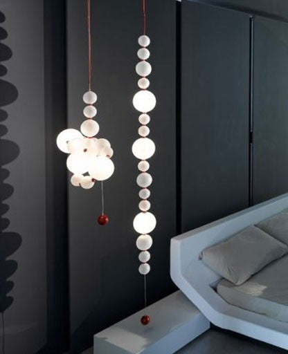 T210 Tour de Perle Suspension Lamp from ITALAMP | Modern Lighting + Decor
