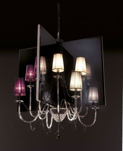 T400 Quadrimensione Chandelier from ITALAMP | Modern Lighting + Decor