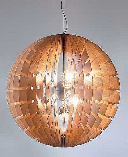 Buy online latest and high quality Helios suspension lamp - wood from B.Lux | Modern Lighting + Decor