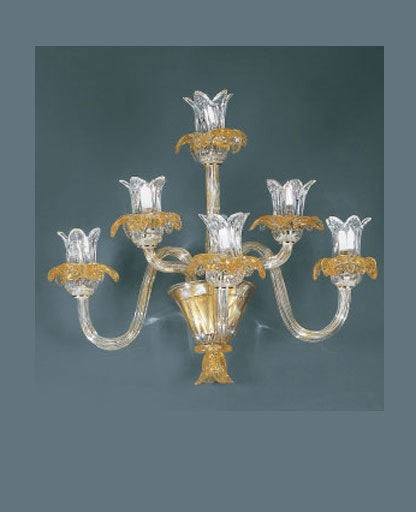 94/A6 Wall Sconce from VetriLamp Murano | Modern Lighting + Decor