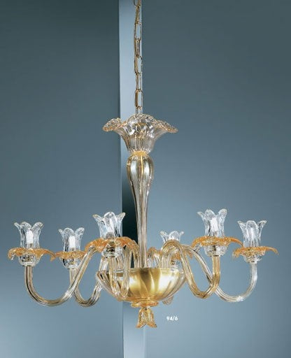 Buy online latest and high quality Murano 94/6 Chandelier from VetriLamp Murano | Modern Lighting + Decor