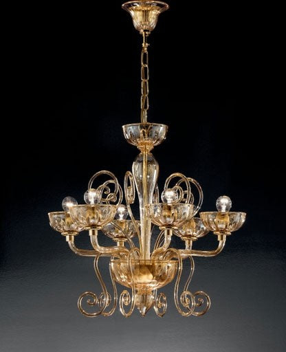 Buy online latest and high quality Murano 971/6 Chandelier from VetriLamp Murano | Modern Lighting + Decor