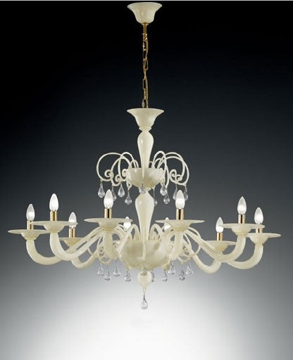 Buy online latest and high quality Murano 1185/10 Chandelier from VetriLamp Murano | Modern Lighting + Decor