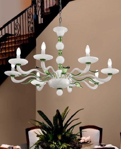 Buy online latest and high quality Murano 1171/8 Chandelier from VetriLamp Murano | Modern Lighting + Decor