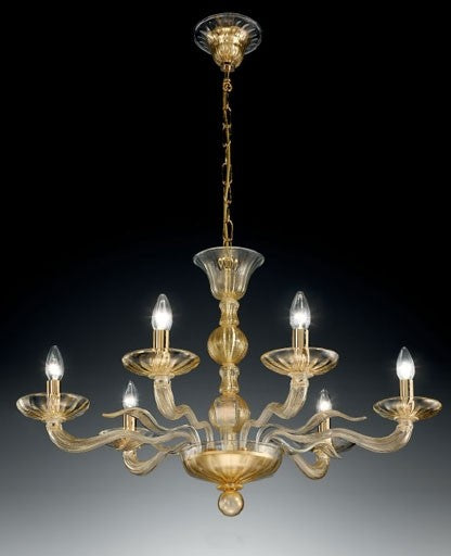 Buy online latest and high quality Murano 1171/6 Chandelier from VetriLamp Murano | Modern Lighting + Decor