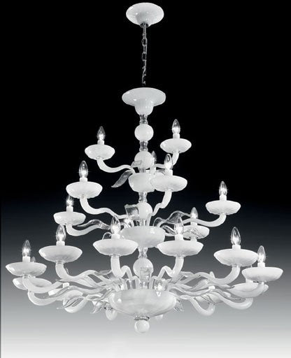 Buy online latest and high quality Murano 1171/12+6+3 Chandelier from VetriLamp Murano | Modern Lighting + Decor