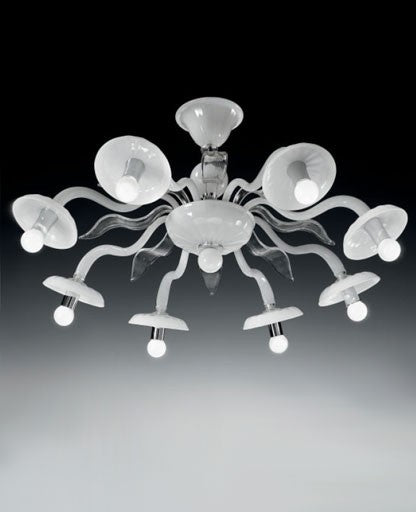 Buy online latest and high quality 1174/8 Ceiling Light from VetriLamp Murano | Modern Lighting + Decor