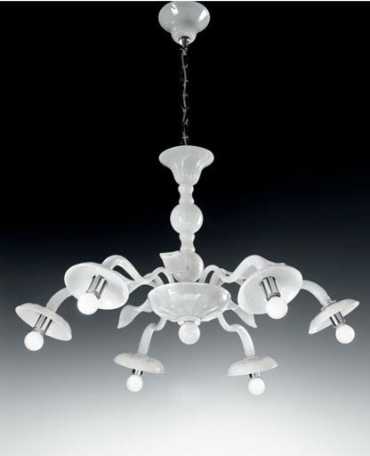 Murano 1173/6 Chandelier from VetriLamp Murano | Modern Lighting + Decor