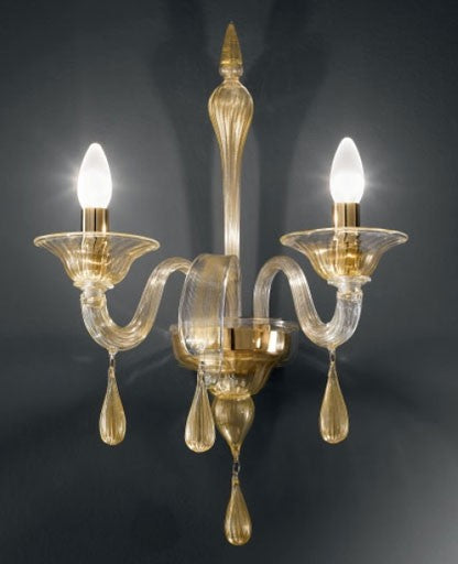 Buy online latest and high quality 1184/A2 Wall Sconce from VetriLamp Murano | Modern Lighting + Decor