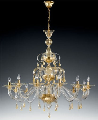 Buy online latest and high quality Murano 1184/12 Chandelier from VetriLamp Murano | Modern Lighting + Decor
