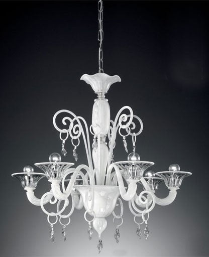 Murano 972/6 Chandelier from VetriLamp Murano | Modern Lighting + Decor