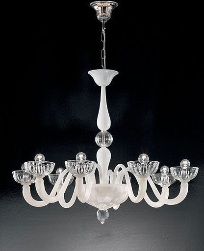 Murano 925/8 Chandelier from VetriLamp Murano | Modern Lighting + Decor
