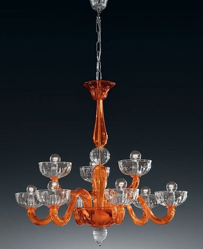 Murano 925/6+3 Chandelier from VetriLamp Murano | Modern Lighting + Decor