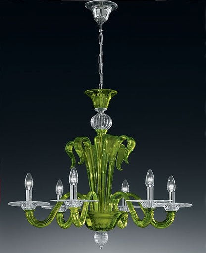 Murano 924/6 Chandelier from VetriLamp Murano | Modern Lighting + Decor