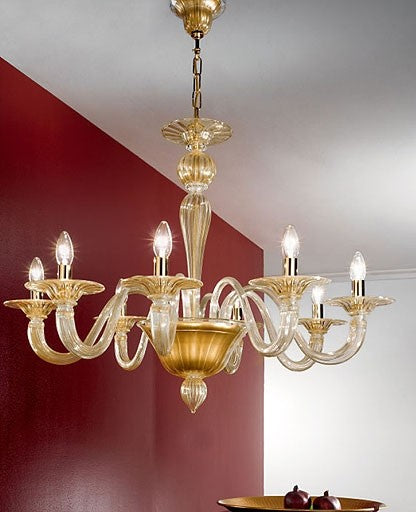 Buy online latest and high quality Murano 926/8 Chandelier from VetriLamp Murano | Modern Lighting + Decor