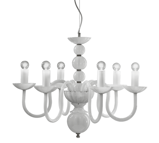 281 Evoque Chandelier from ITALAMP | Modern Lighting + Decor