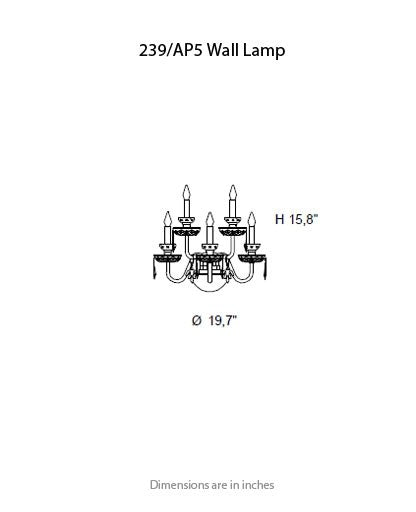 Buy online latest and high quality 239 Wall Sconce from ITALAMP | Modern Lighting + Decor