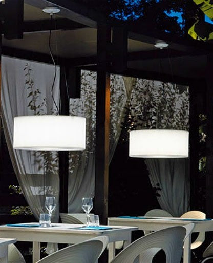 Atollino Outdoor Pendant Light from Modoluce | Modern Lighting + Decor