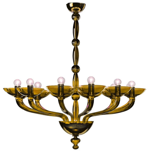 Antenoreo ANTSOV08 Chandelier from Mazzega 1946 | Modern Lighting + Decor